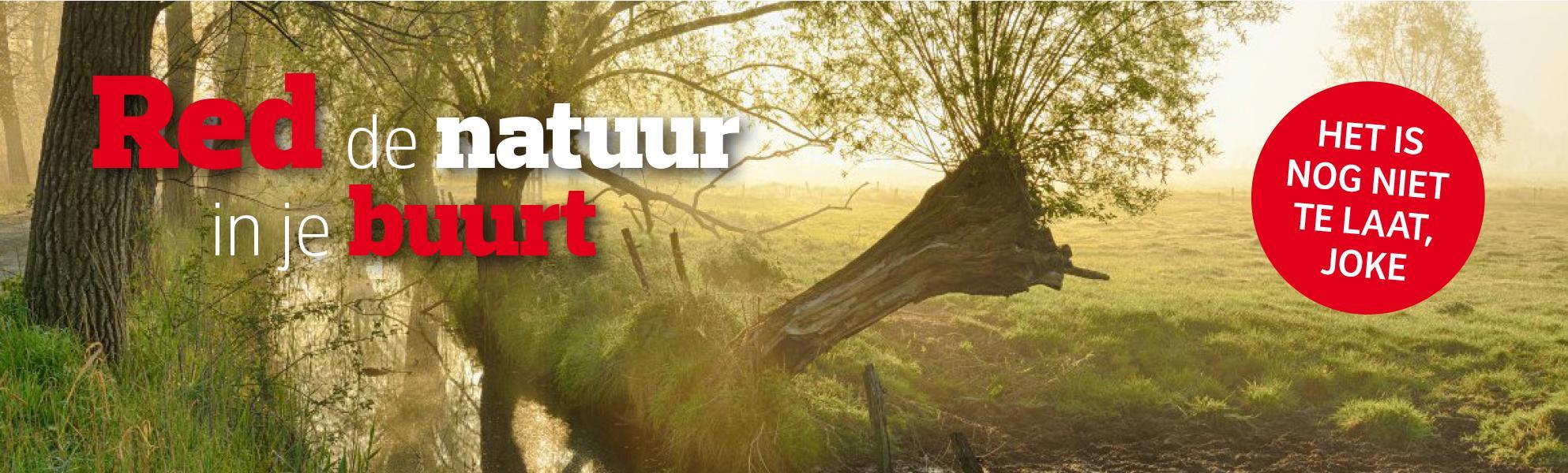 Petitie - Red de natuur, nu het nog kan