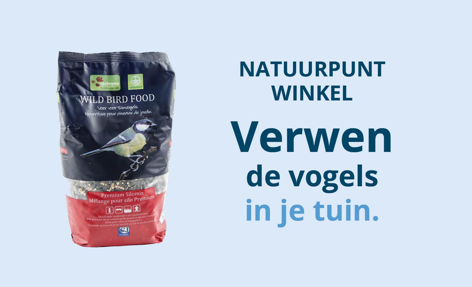 Vogelvoer kopen  - Koop het beste voer voor je tuinvogels in de Natuurpunt Winkel
