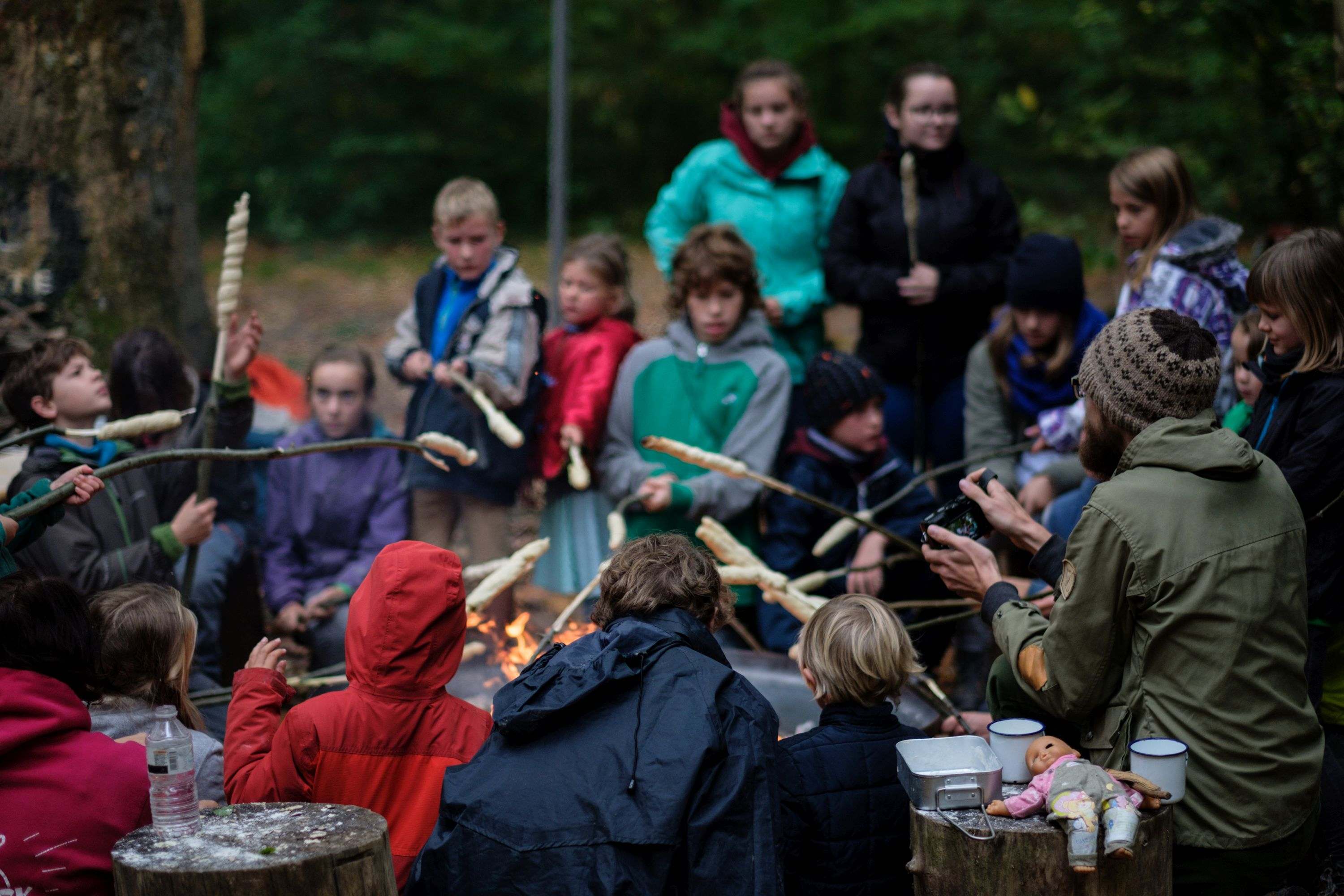 Bushcraft-weekend 2017 © Harald Six