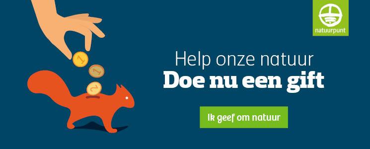 Doe nu een online gift en help de natuur