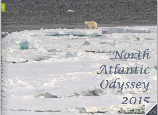 fotoboek North Atlantic Odyssey 2015