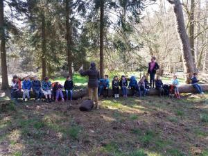 gidsen voor kinderen in het Zoniënwoud
