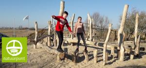 Speelnatuur bezoekerscentrum Uitkerkse polder