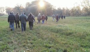 wandeling in het Moer, Merkske