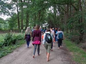 Blotevoetenwandeling in Landschap De Liereman!