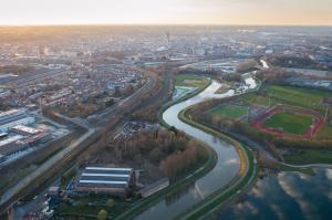 Luchtbeeld Mechelen