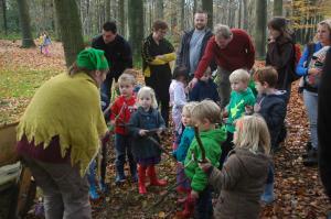 boswandeling voor kleuters