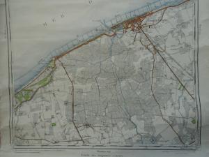 historische kaart van de Uitkerkse Polder