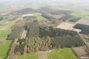 luchtfoto Keigatbos