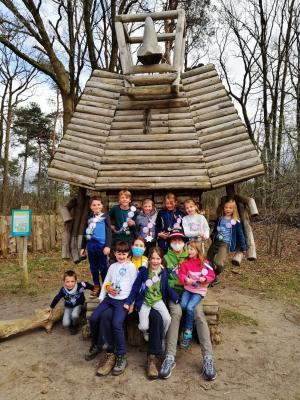 Natuurkamp voor kinderen