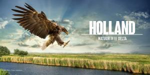 Affiche Holland: Natuur in de Delta