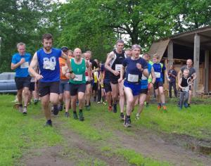 Start van de Run for Nature 2016