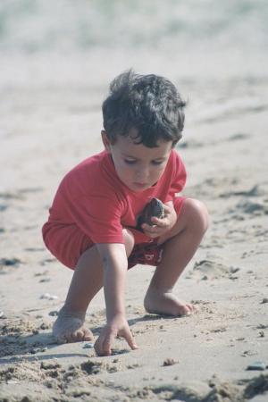 Strandvondsten verzamelen