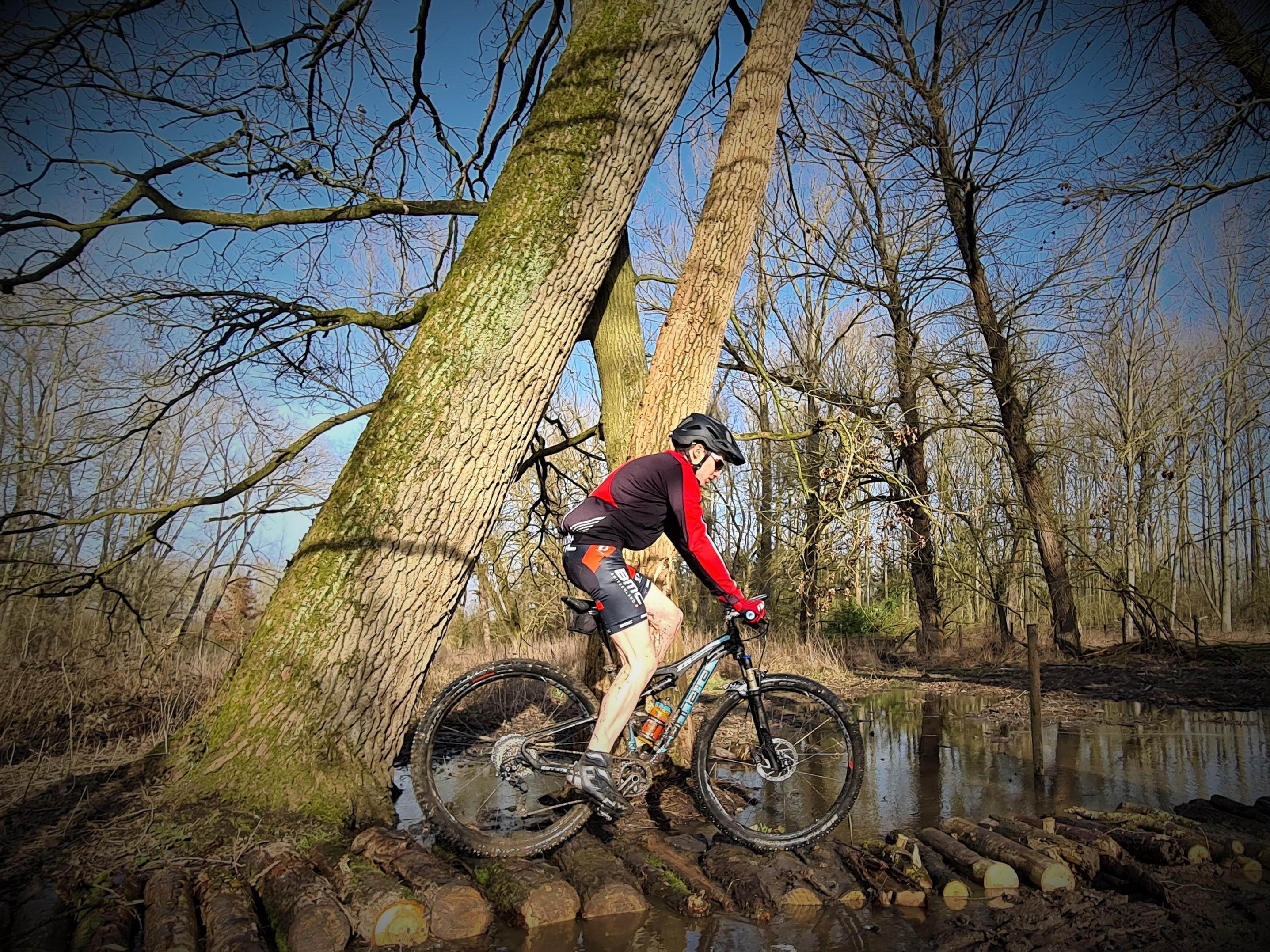 Knuppelpad - goedgekeurd door mountainbikers