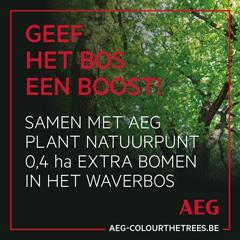AEG geeft het bos een boost