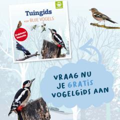 Vraag je gratis Tuingids voor Blije vogels aan