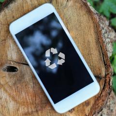 Recycleer je oude gsm