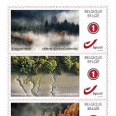 """Eind januari lanceerde B Post een nieuwe reeks thematische postzegels. Voor het eerst werd hiervoor samengewerkt met Natuurpunt en fotograaf Wouter Pattyn. Het resultaat is een reeks van 10 postzegels rond het thema """"natuur vanuit de hemel"""". Ontdek de ad"""