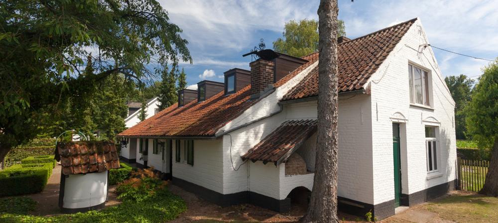 Huize Ernest Claes is de toegangspoort tot de Demerbroeken