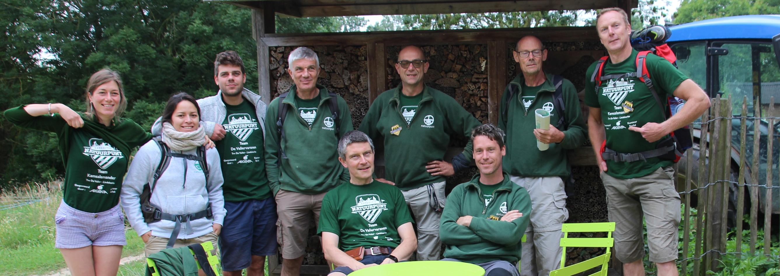 Teams expeditie Natuurpunt 2018