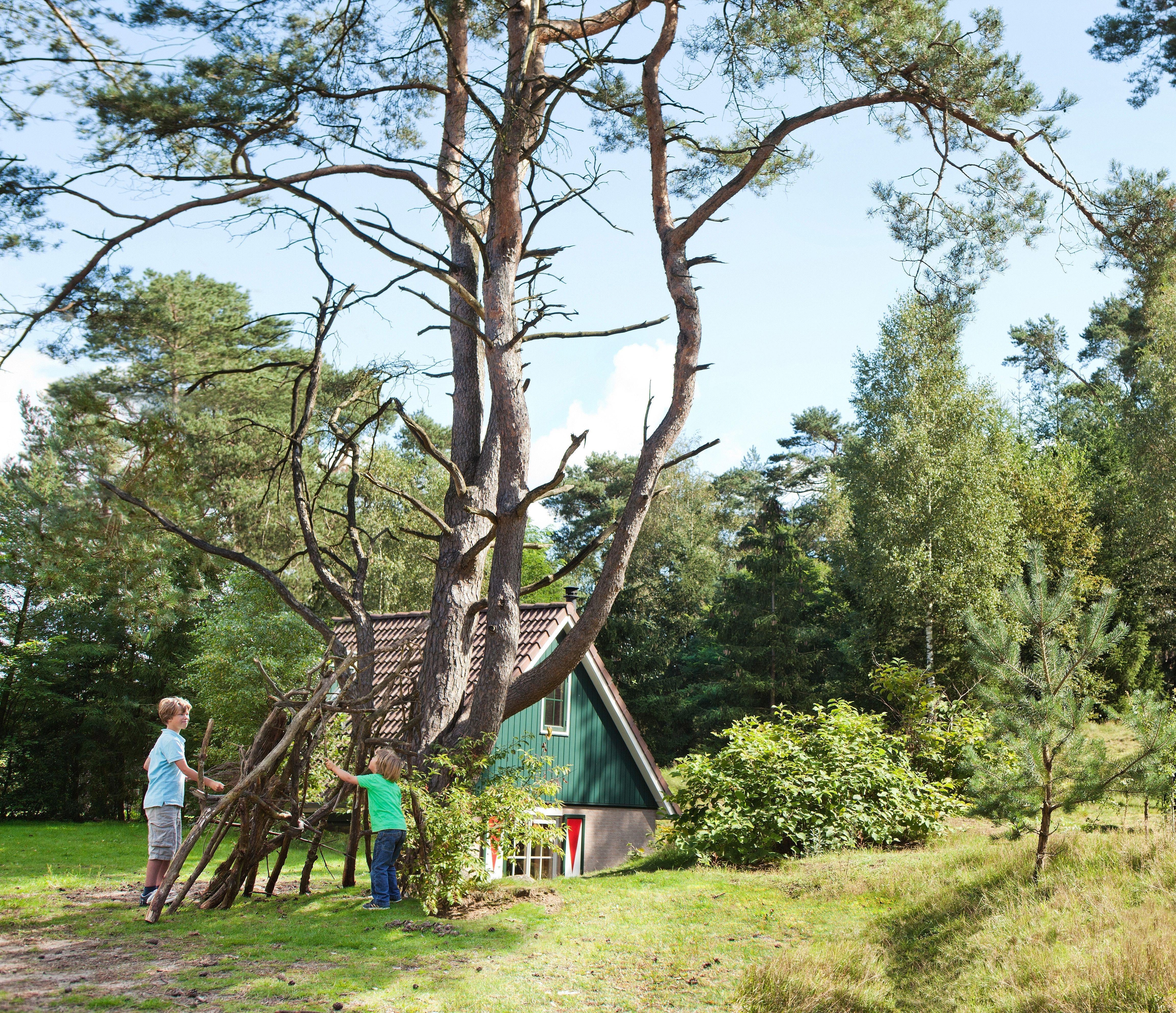 Logeren in de natuur doe je bij Landal Greenparks