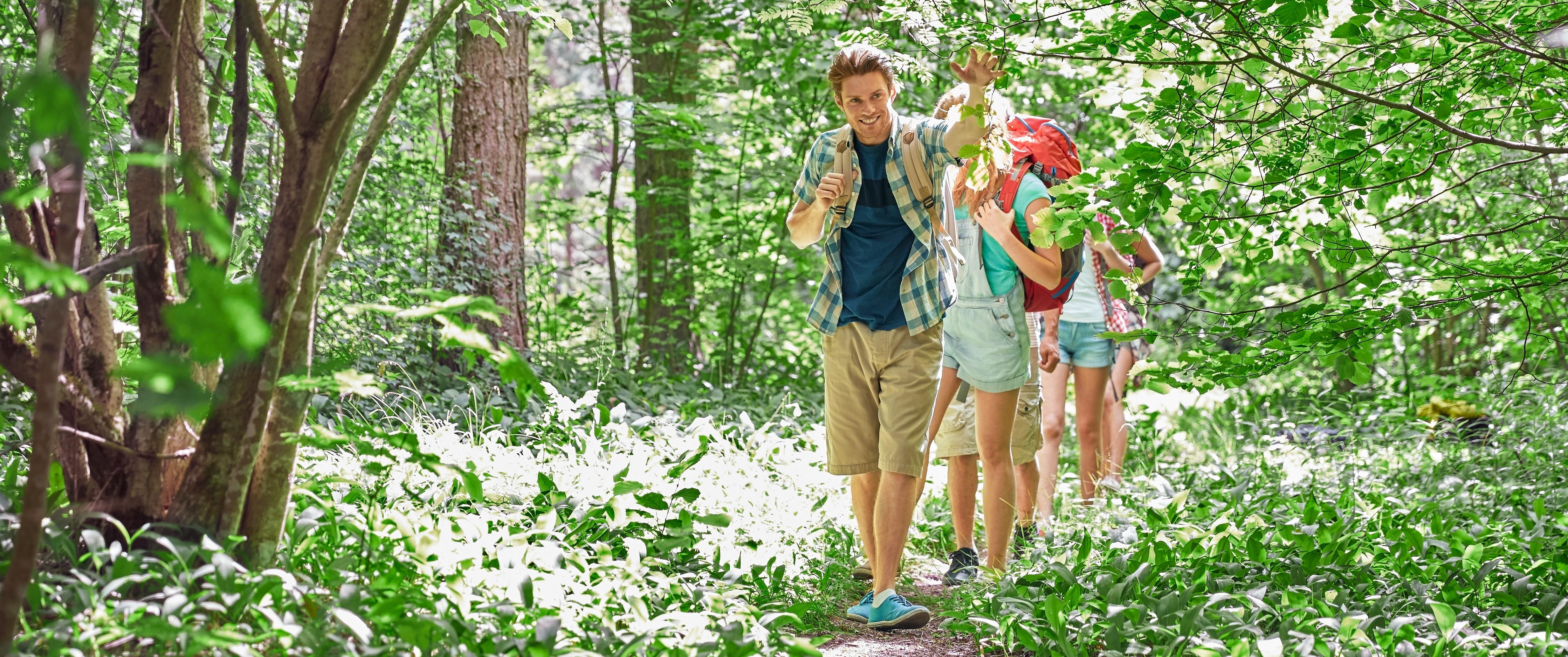Onze bezoekerscentra zijn de ideale uitvalsbasis voor een ontspannende wandeling