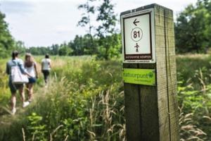 Het Molderbroek in Gompel is vanaf nu ook opgenomen in het netwerk van wandelknooppunten.