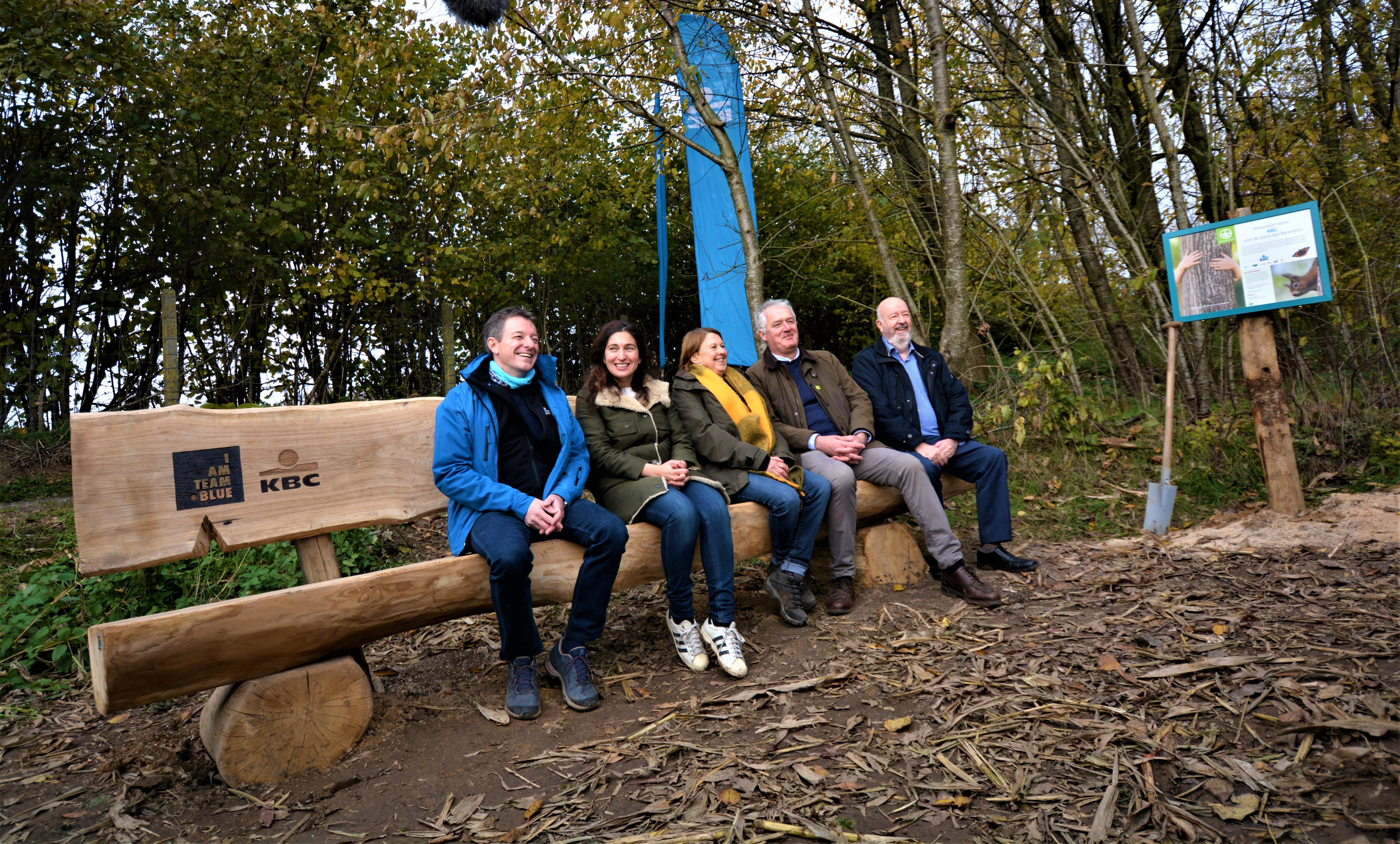KBC plantte samen met Natuurpunt 12.000 bomen aan
