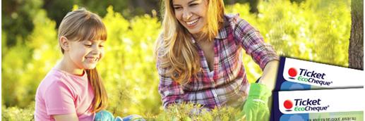 Gebruik je ecocheques voor een gift aan de natuur