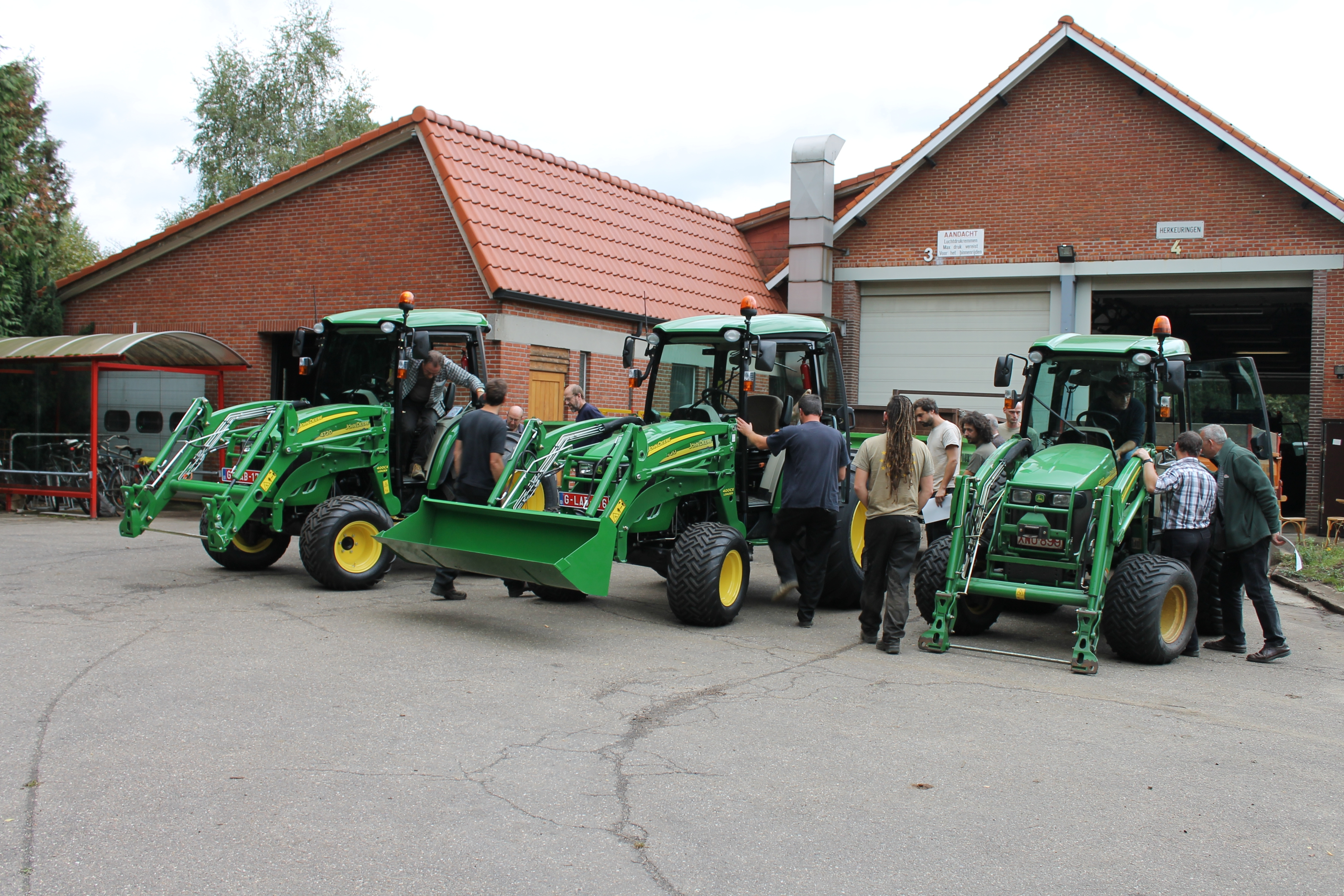 Opleiding tractor