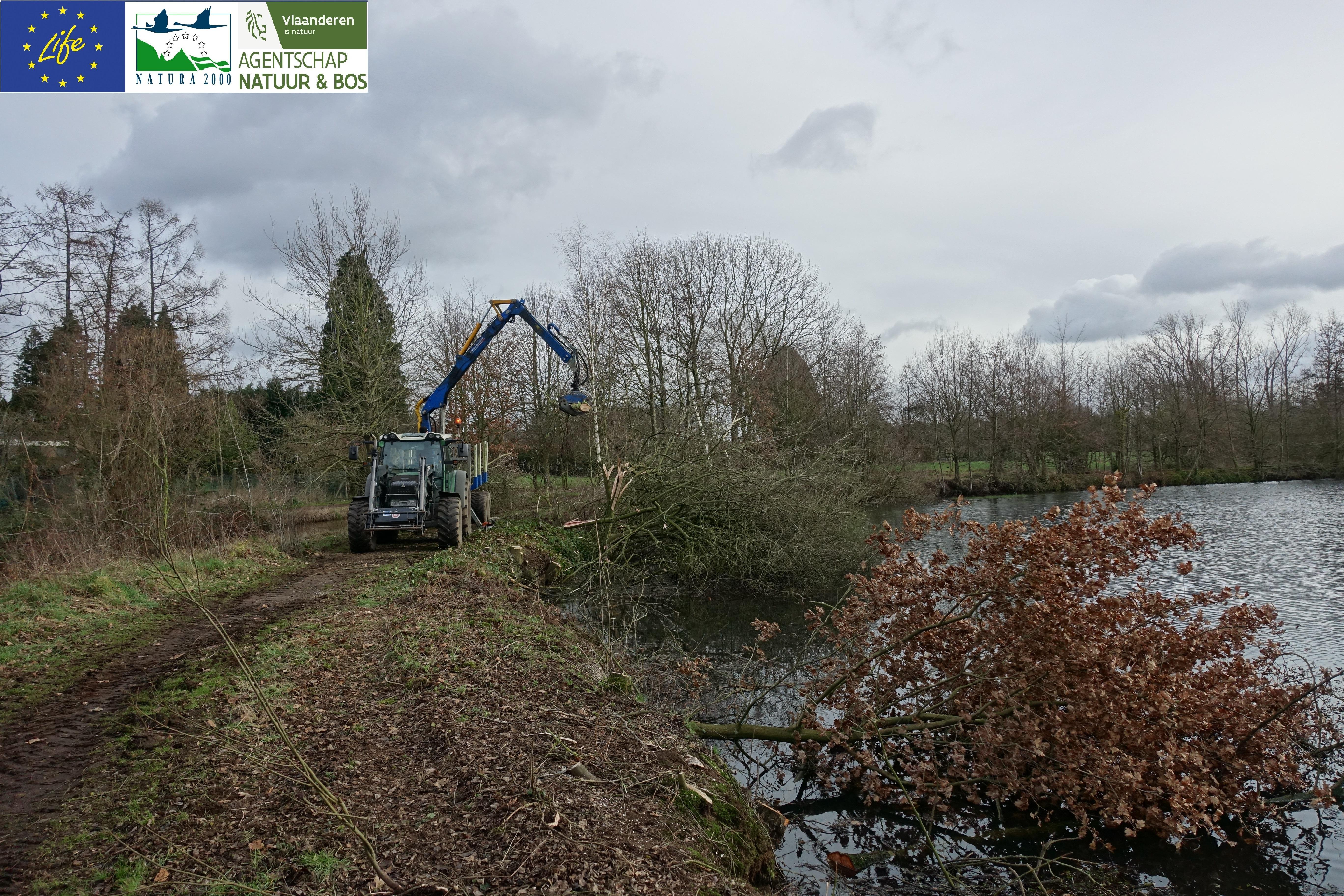 inrichting buitenomgeving site watermolen Bels Broek & Heide