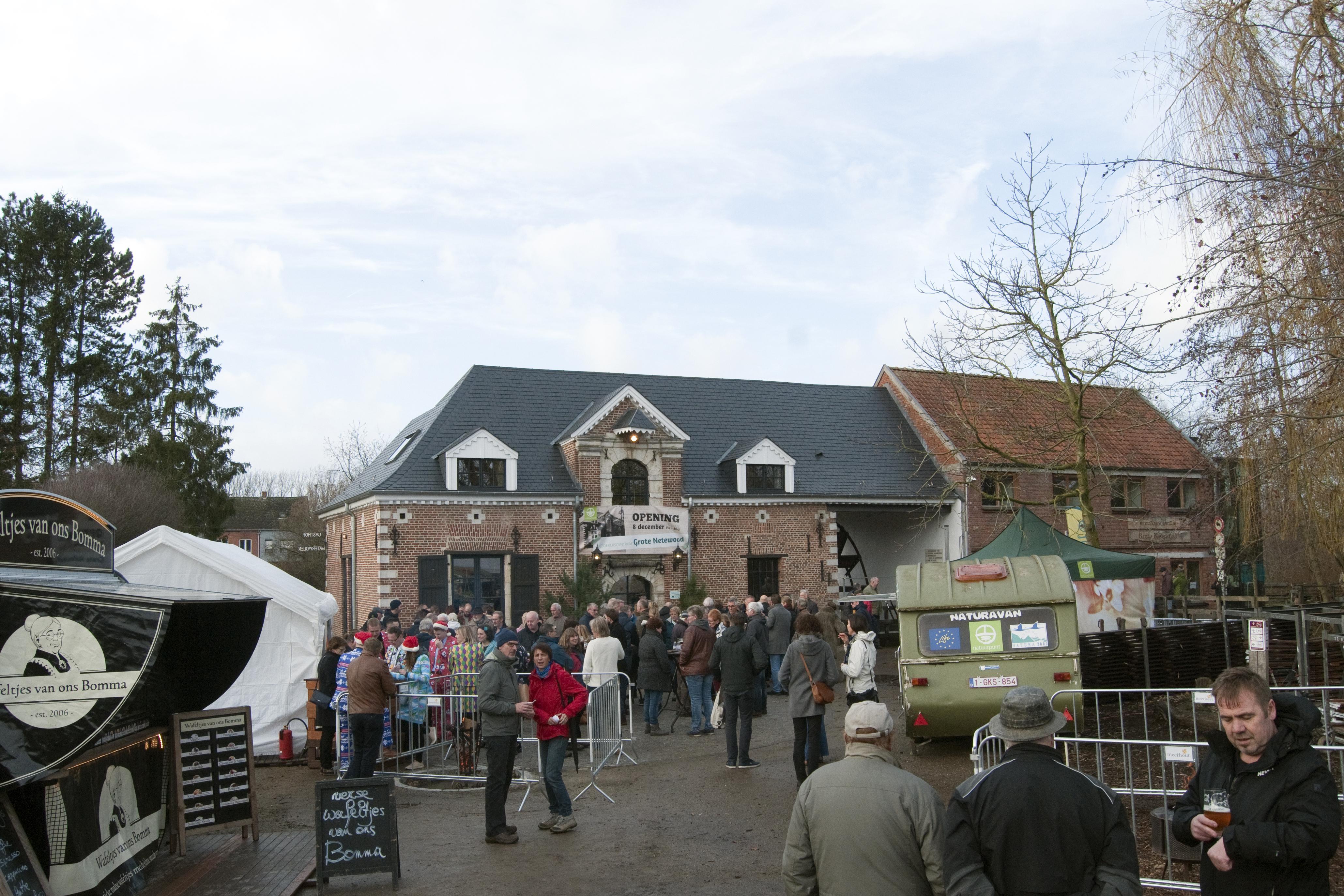 opening oude watermolen als nieuw bezoekerscentrum