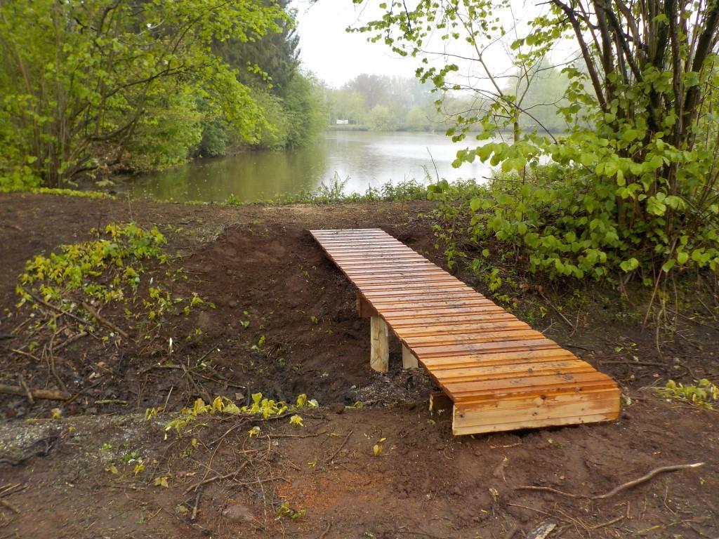 totterpad Grote Netewoud: brug vijver