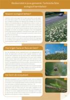 Technische fiche: ecologisch bermbeheer