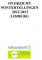 Jaarrrapport wintertelling 2012-2013