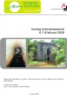 Verslag fortentelweekend 2009